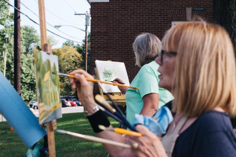 Cranford Community Paint Out 2017