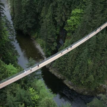 Capilano Bridge overview