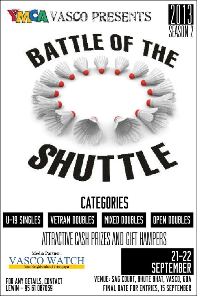battle of the shuttle 2013 poster
