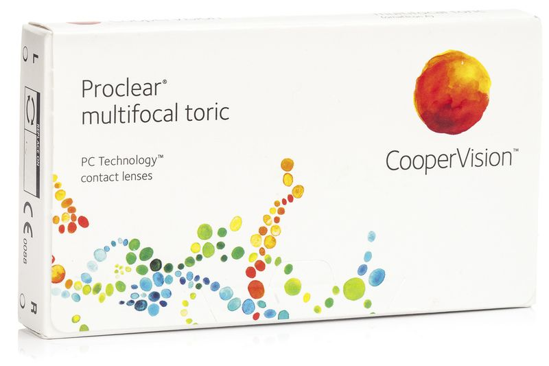 Proclear Multifocal Toric (3 Lenses)
