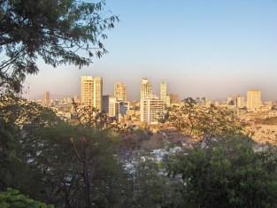 The view from Malabar Hill in Mumbai