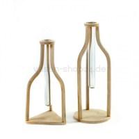 Serax Vasen Fliesen 2er Set aus Holz und Glas