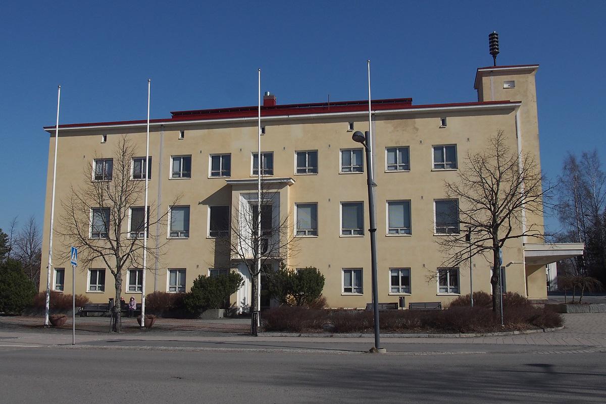Kangasalan kaupungintalo. Kuvaaja: Jorma Mäntylä