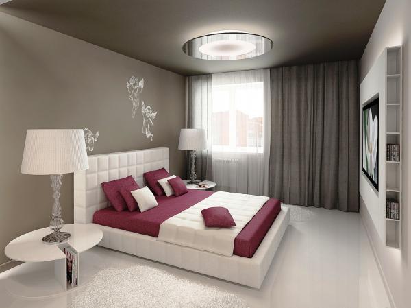 дизайн спальни в современном стиле 6