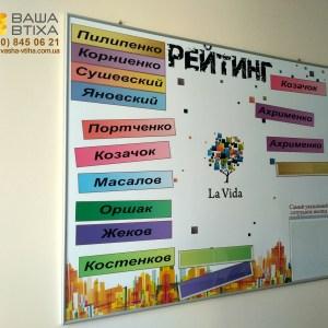 Дизайн, виготовлення інформаціного стенду