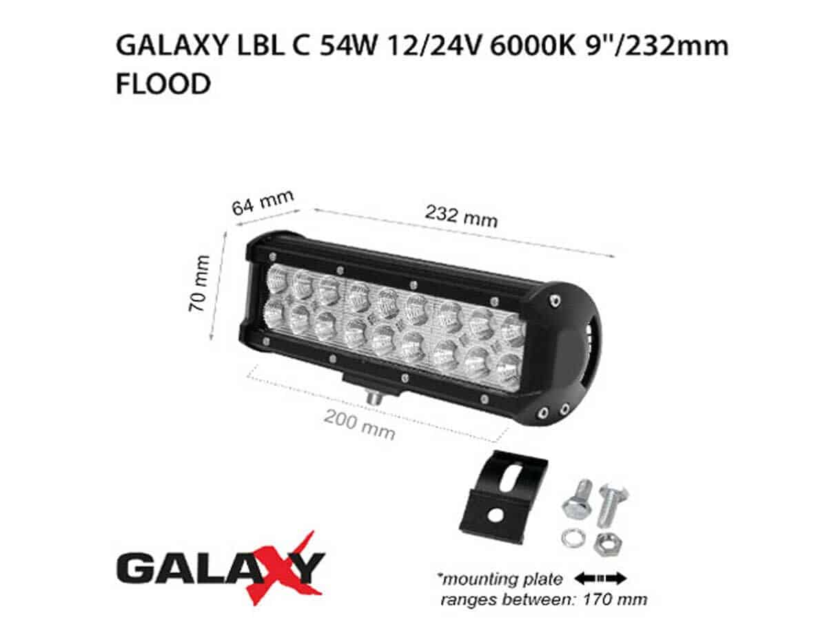 LED BARS LBL C-54W