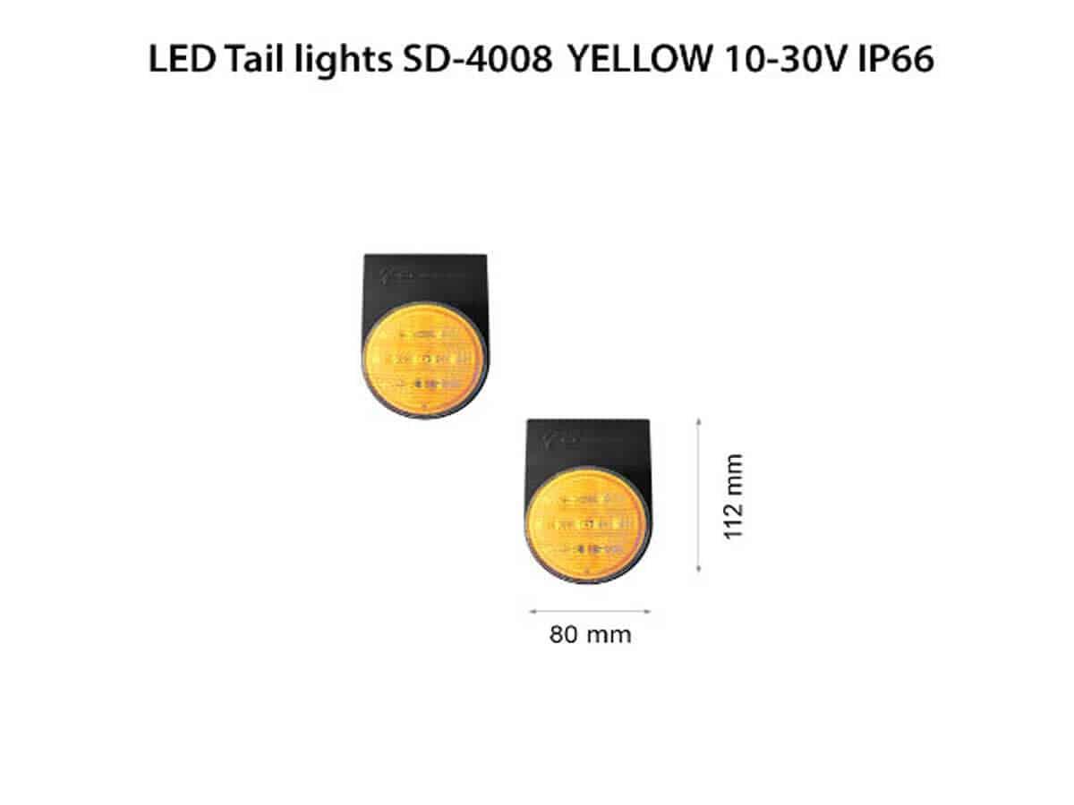 LED-Tail-lights-SD-4008-YEL