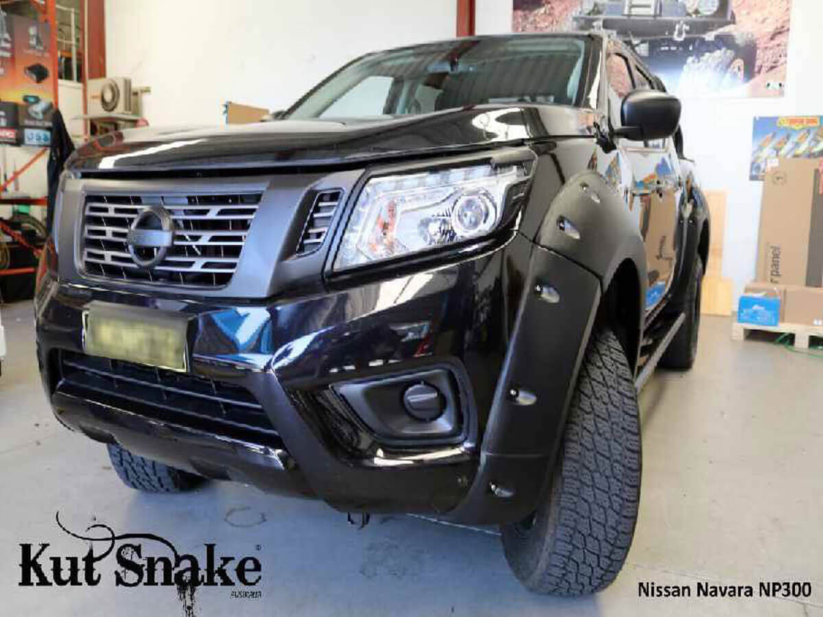 уширители kut snake Nissan Navara D23-monster-85 mm