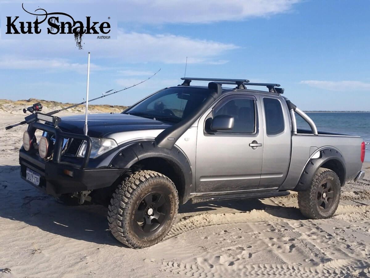 уширители kut snake Nissan Navara D40 - 75 mm
