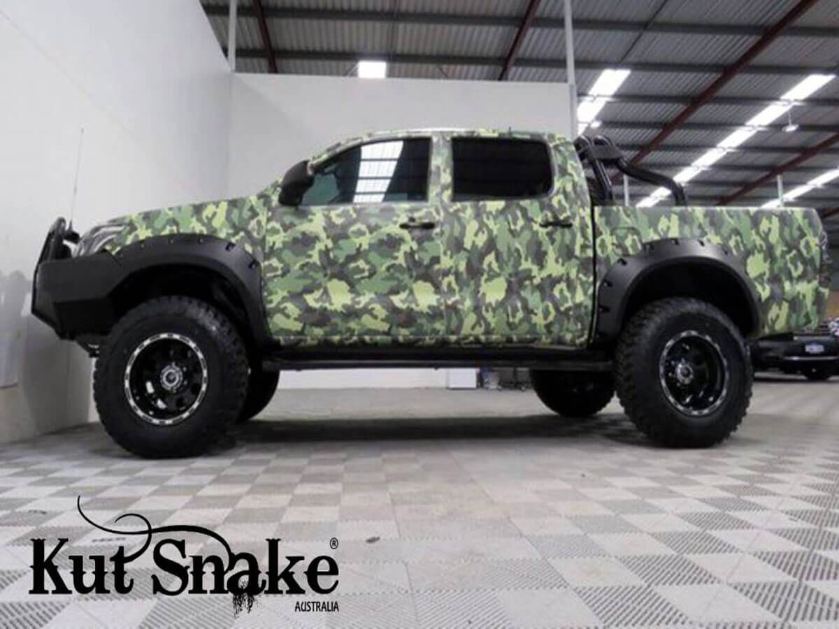 уширители kut snake Toyota Hi-Lux 2012-2015 monster (face-lift) - 95 mm