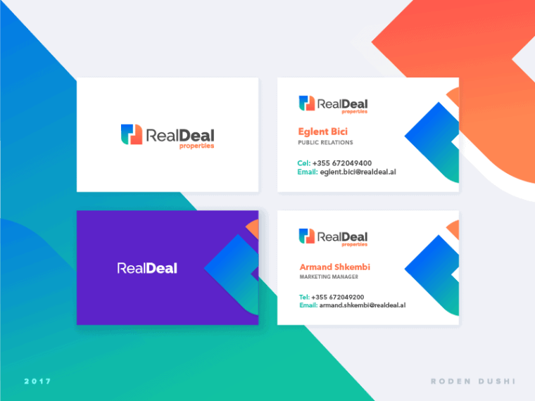 10 Business Card Real Deal