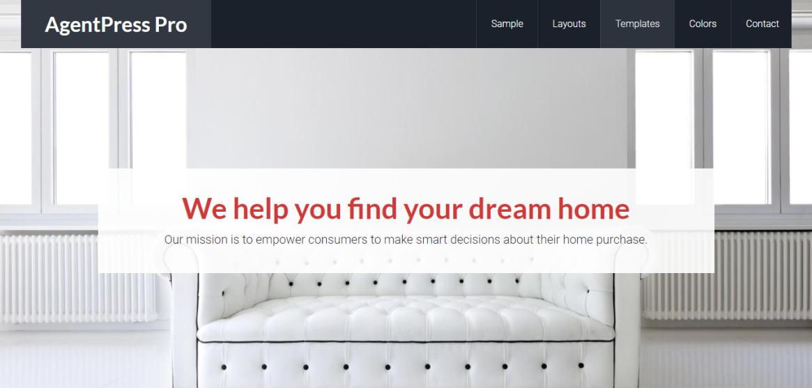 AgentPress Pro Real Estate Genesis Theme