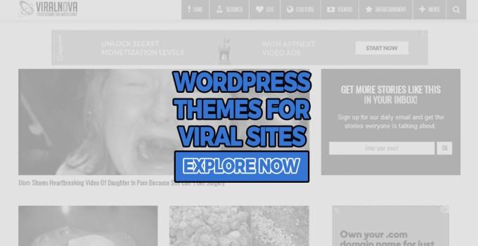 viral WordPress themes