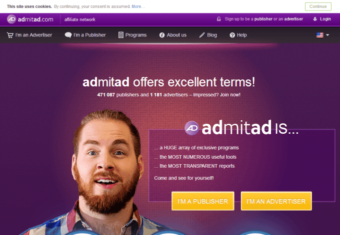 admitad affiliate network as one of the best mobile affiliate networks in india 2019