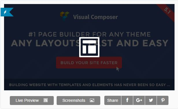 visual composer landing page builder