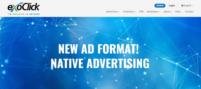 exoclick network for adult pop advertising