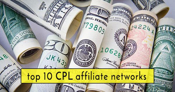 make money online CPL affiliate network