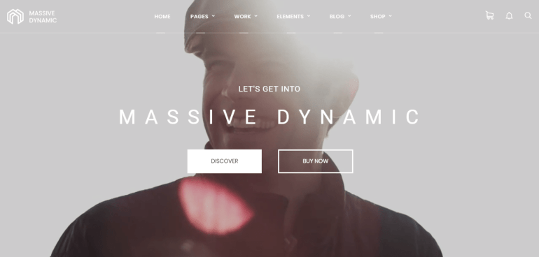 Main Theme – Built By Massive Dynamic Theme