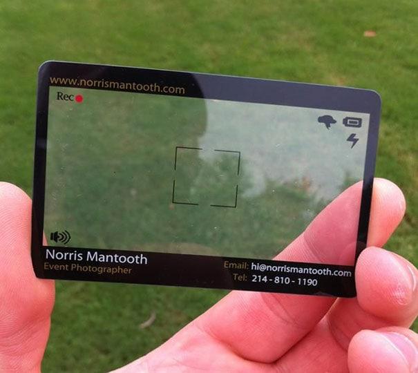 5 Event Photographer business Card