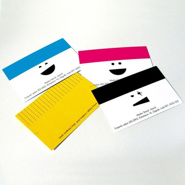 6 Hair Dresser Business Card 1