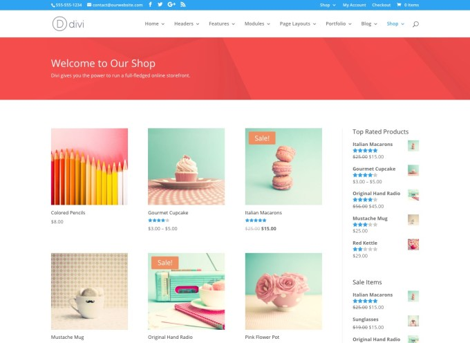 Shop Standard Divi The Ultimate WordPress Theme