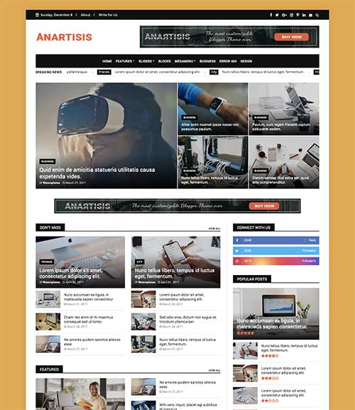 anrtisis-template-ads-ready