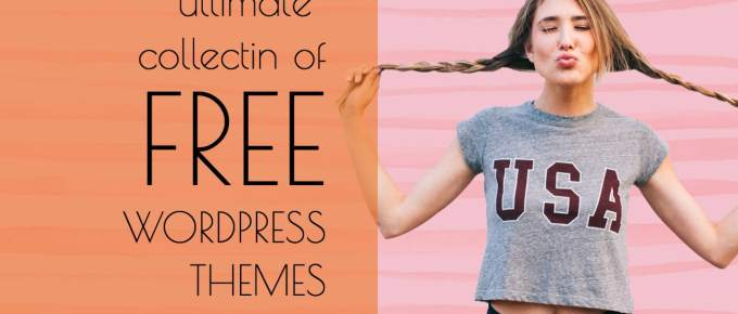 Create Any kind Of Website With 20+ Free WordPress Themes