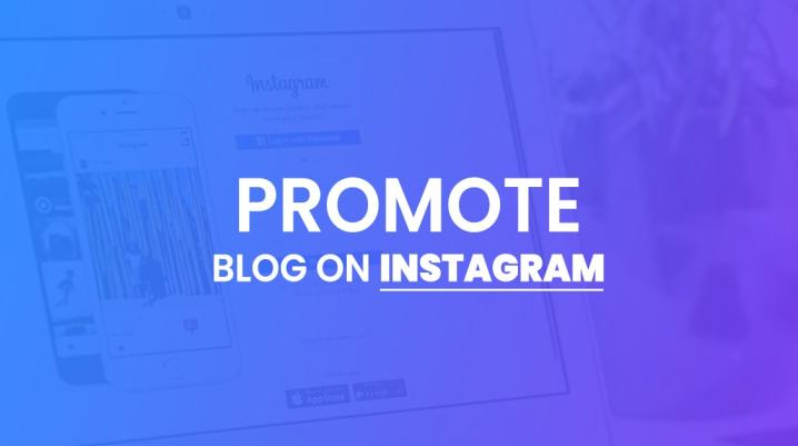 promote blog on instagram