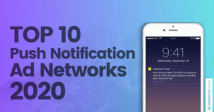 push notification ad networks