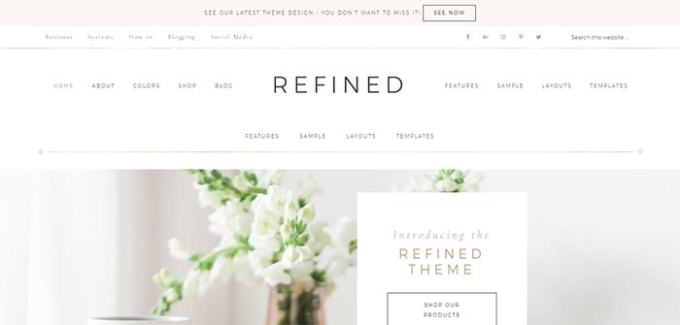 Refined WordPress Theme Built for Growth