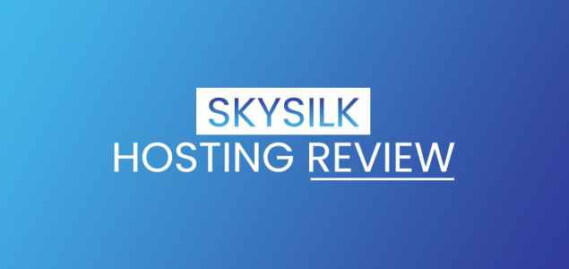 skysilk hosting review