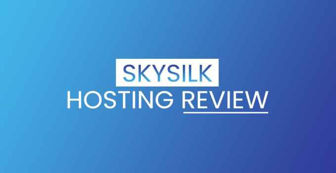 skysilk hosting review