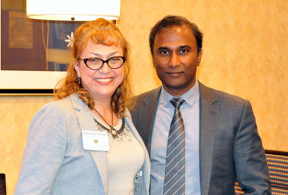Dr. V.A. Shiva Ayyadurai was invited as the Chief Guest by the Rotary Club of Acton-Boxborough for their luncheon meeting on Wednesday, May 3, 2017
