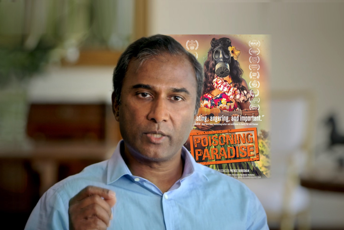 Dr. Shiva Ayyadurai was the featured scientist in award-winning documentary, Poisoning Paradise