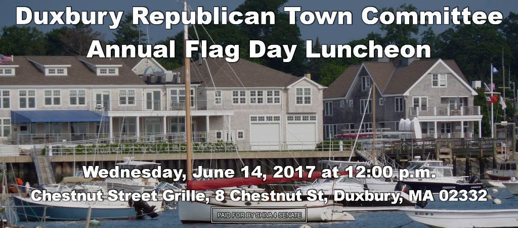 Shiva Ayyadurai Speaks At Duxbury Republican Town Committee Annual Flag Day Luncheon