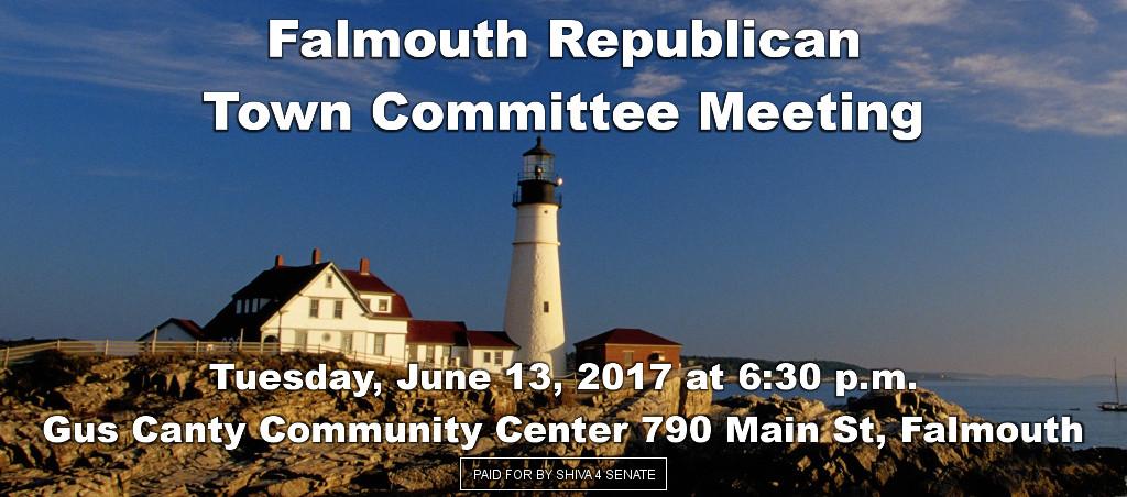 Shiva Ayyadurai Speaks At Falmouth Republican Town Committee Meeting