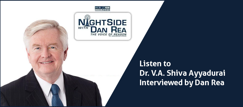 Dr. V.A. Shiva Ayyadurai Interviewed By Dan Rea On Running For The Senate