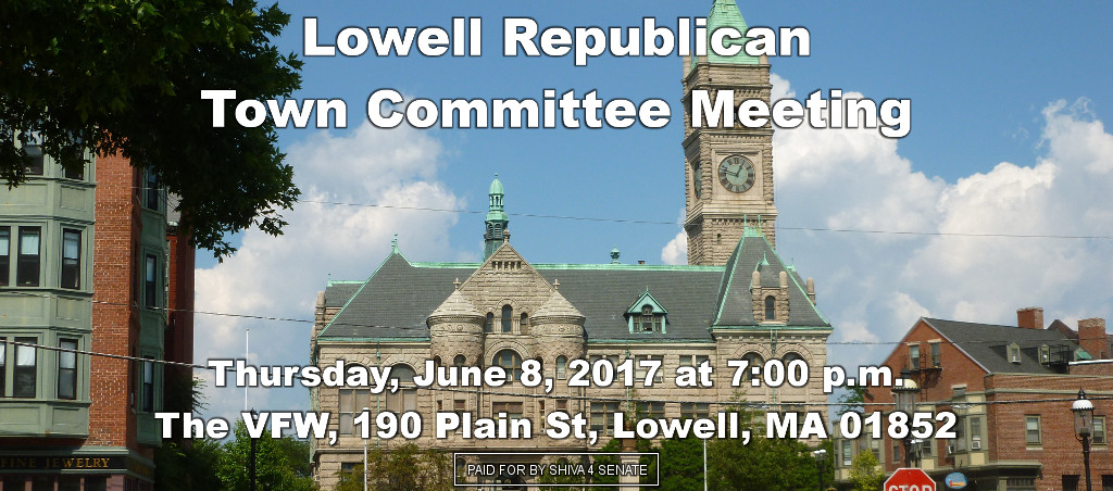 Shiva Ayyadurai To Speak At Lowell Republican Town Committee Meeting