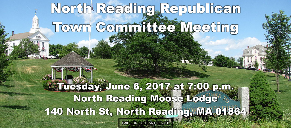 Shiva Ayyadurai Speaks At North Reading Republican Town Committee Meeting
