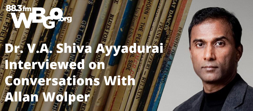 Dr. V.A. Shiva Ayyadurai Interviewed On Conversations With Allan Wolper