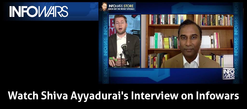 Watch Shiva Ayyadurai's June 25, 2017 Interview On Infowars