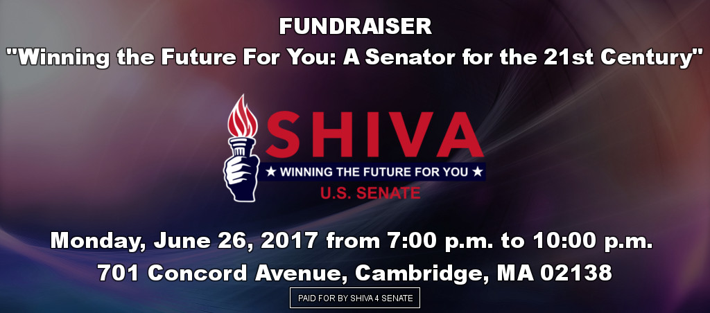 "FUNDRAISER – ""Winning The Future For You: A Senator For The 21st Century"""