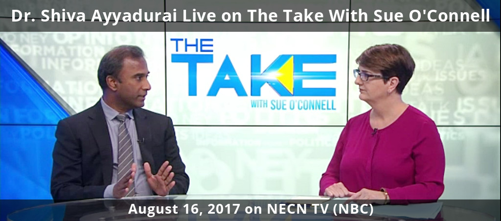 Dr. Shiva Ayyadurai Live On The Take With Sue O'Connell