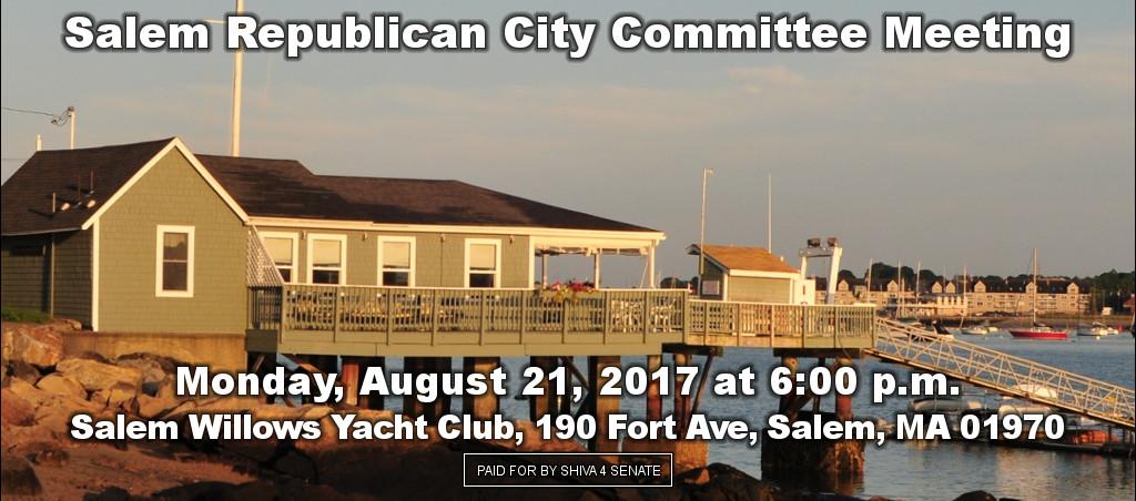Dr. Shiva Ayyadurai Speaks At Salem Republican City Committee Meeting