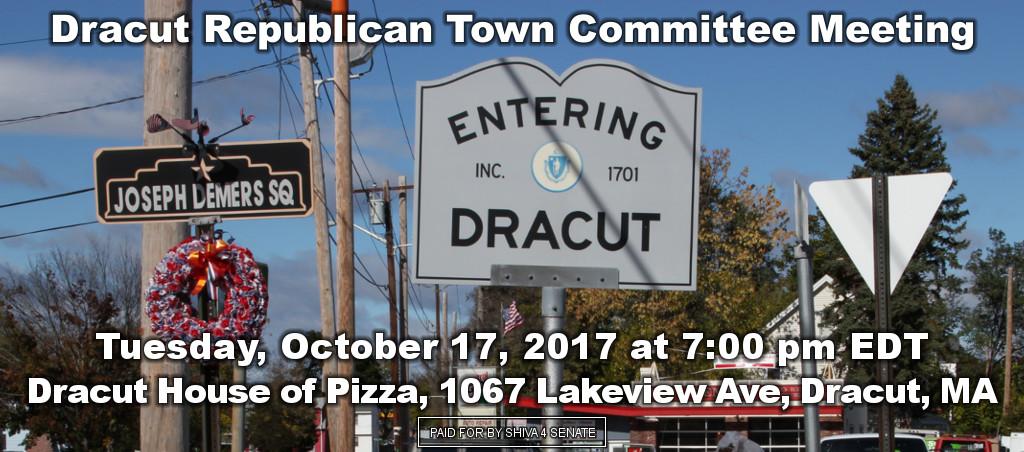 Dr. Shiva Ayyadurai Speaks At Dracut Republican Town Committee Meeting