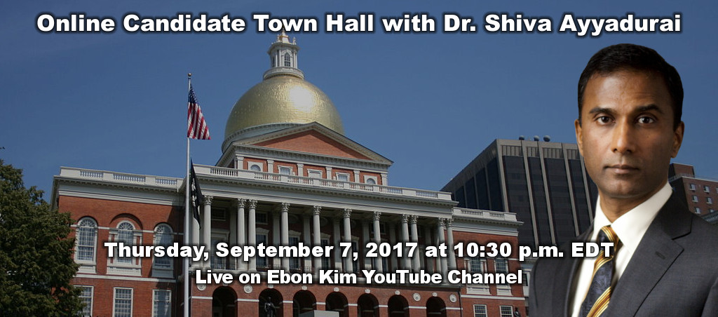 Online Candidate Town Hall With Dr. Shiva Ayyadurai