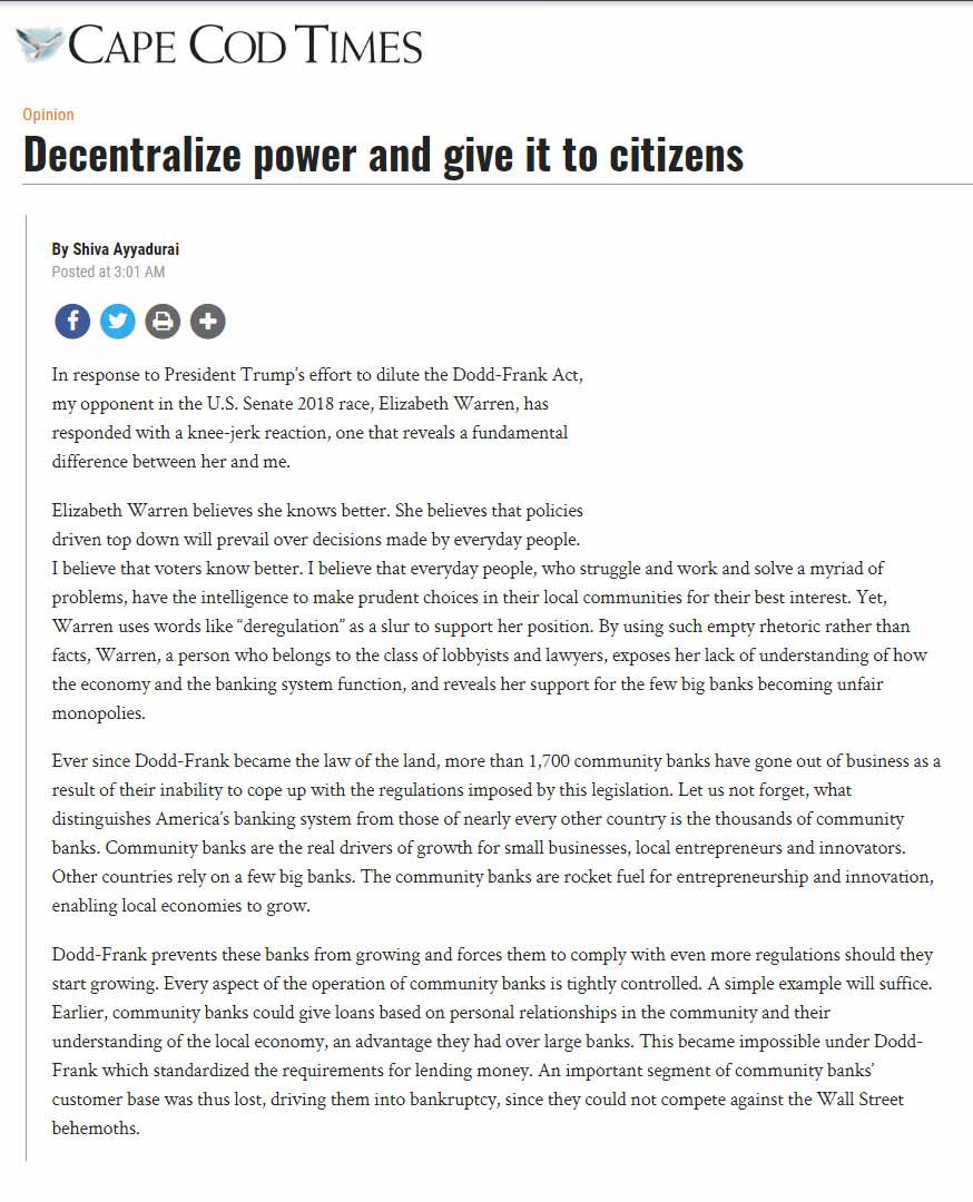 Decentralize Power And Give It To Citizens
