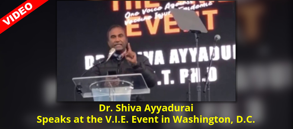 Dr. Shiva Ayyadurai Speaks At The V.I.E. Event