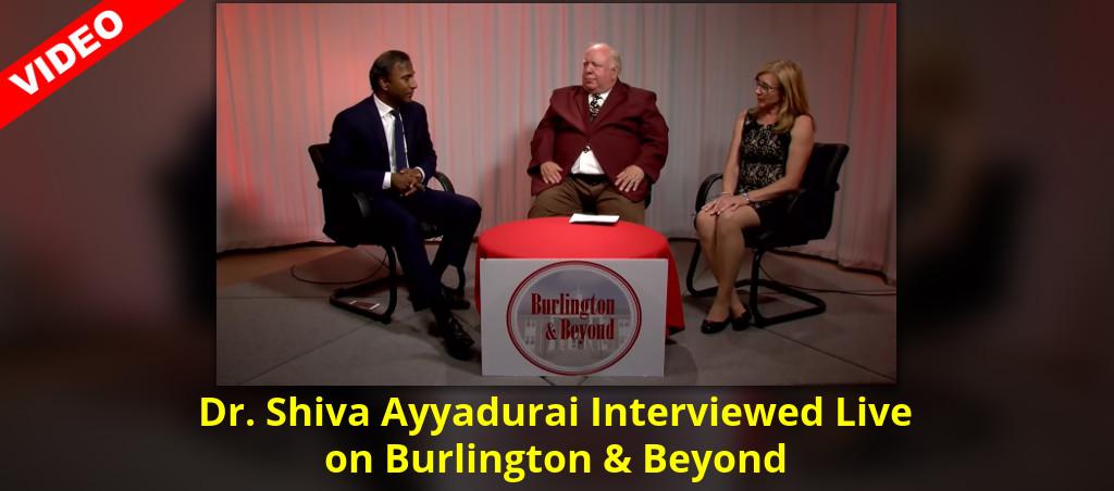 Interview With Dr. Shiva Ayyadurai On Burlington And Beyond