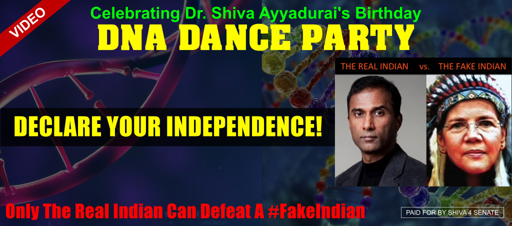 Declare Your Independence At Dr. Shiva Ayyadurai's DNA Dance Party